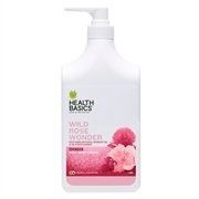 Health Basics New Body Wash 1L (Wild Rose)