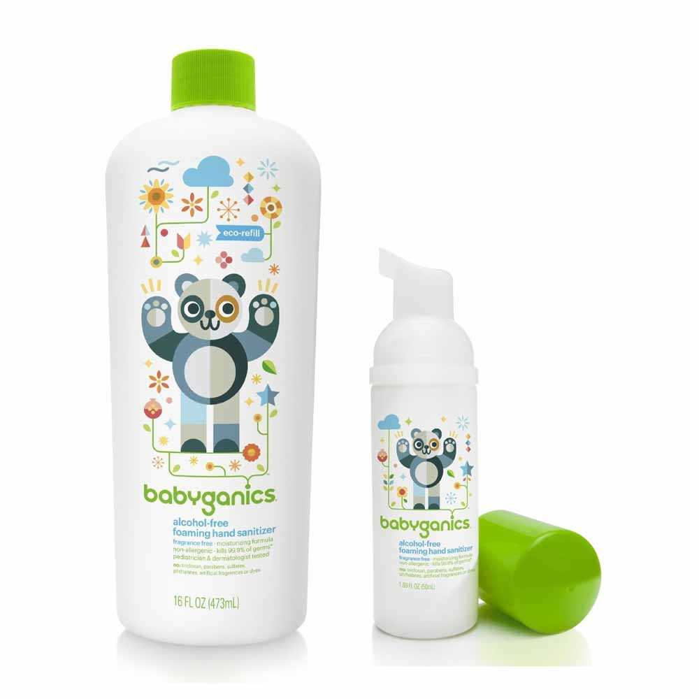 Babyganics 消毒搓手液優惠套裝 BG-010449S