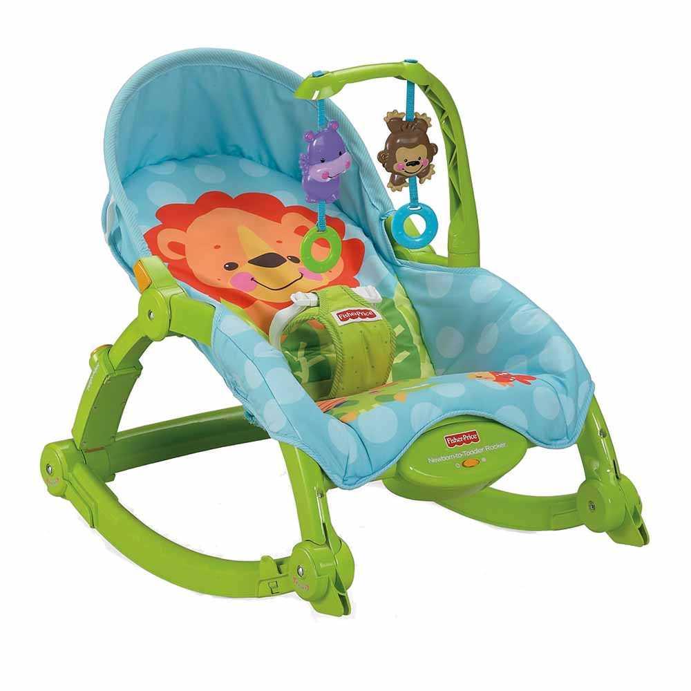 費雪可愛動物多功能輕便躺椅W2811