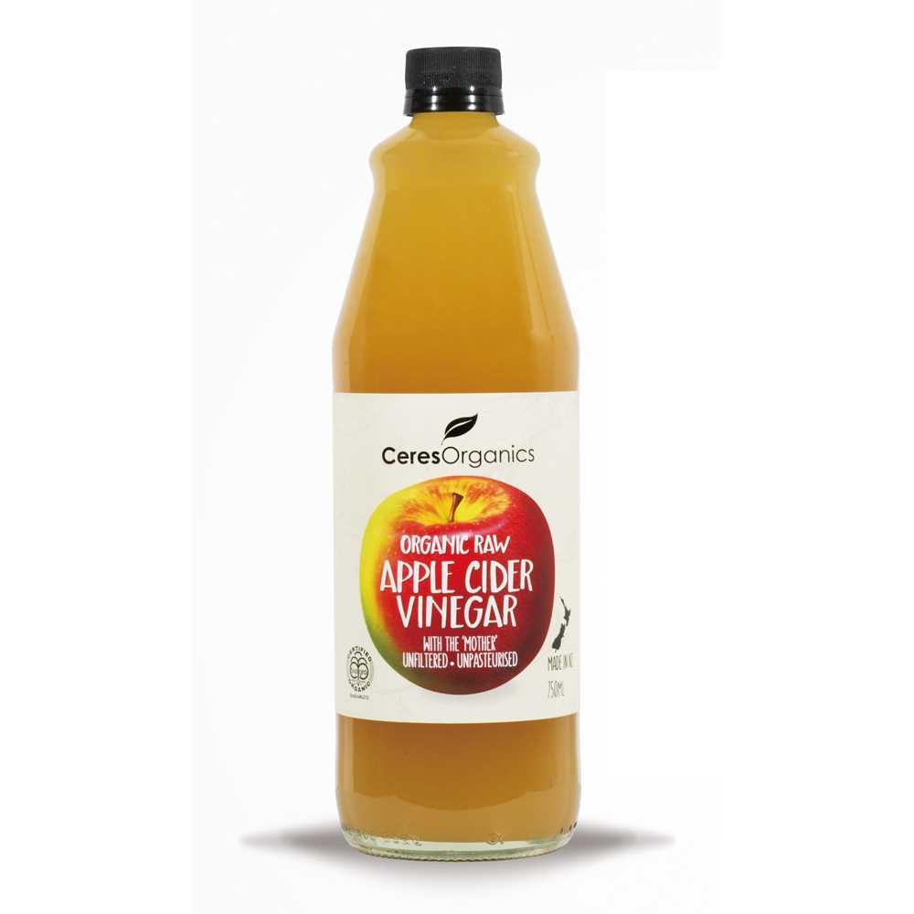 紐西蘭有機蘋果醋750毫升