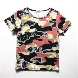 班比奇新款男童短袖圆领T恤00359